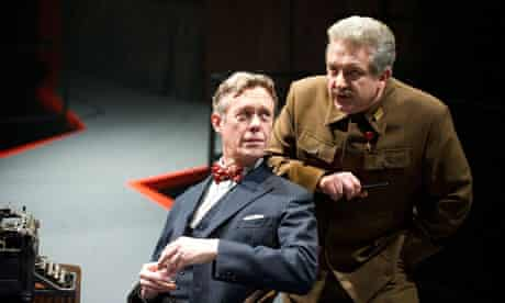 Alex Jennings and Simon Russell Beale
