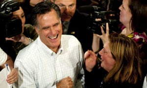 Mitt Romney town hall meeting in New Hampshire