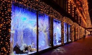 christmas windows - harrods