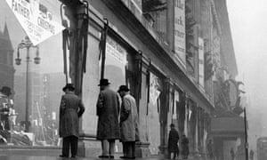 christmas windows - selfridges 1937