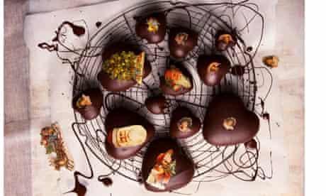 Christmas honey hearts from Trine Hahnemann