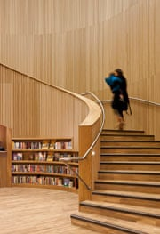 canada water library staircase