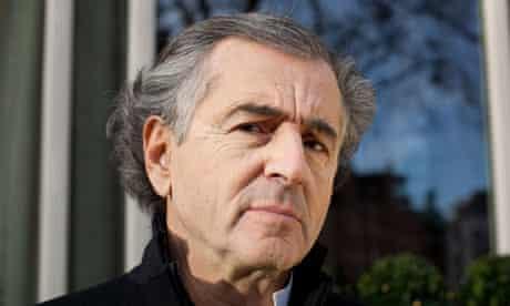 Bernard-Henri Lévy in London.