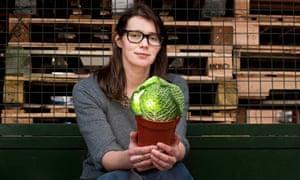 Alice Holden, farming apprentice