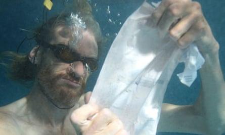 Richard Bremmer as Daddy in Nathaniel Mellors' absurdist drama Ourhouse