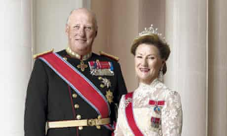 royal wedding - harald and sonja
