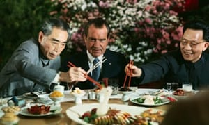 Richard Nixon China Chou En-lai banquet