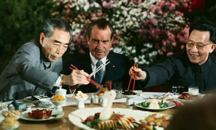 Richard Nixon China Chou En-lai banquet