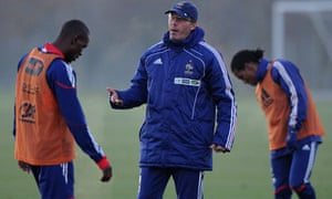 France's football coach, Laurent Blanc (