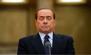 Italian Prime Minister Silvio Berlusconi meets  his Romanian counterpart Emil Boc