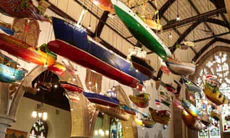 Hew Locke's For Those in Peril at Sea at Folkestone triennial