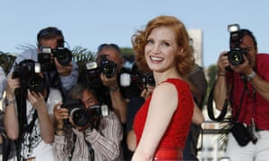 US actress Jessica Chastain