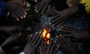 African immigrants, displaced by anti-foreigner violence in Johannesburg