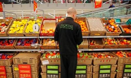 Asda worker in Nottingham