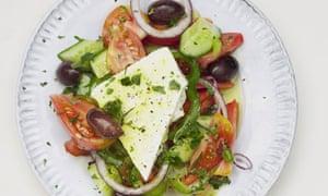 Nigel Slater's classic greek salad