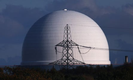 Sizewell B nuclear power station, in Suffolk