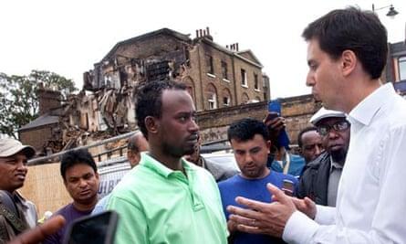 Ed Miliband in Tottenham