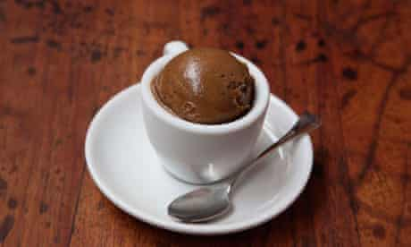 milk free espresso gelato