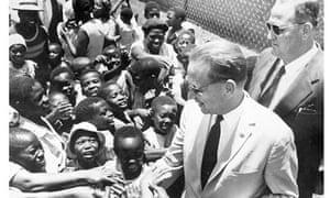 African Children Around Dag Hammarskjold