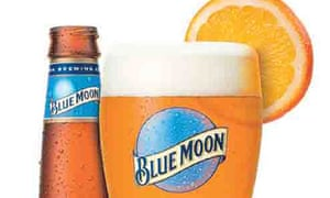 Blue Moon craft beer