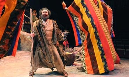 Antony Sher stars as Prospero in The Tempest