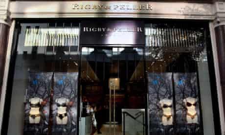Rigby & Peller lingerie shop, London