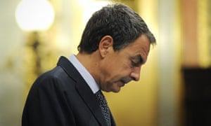 Spain's Prime Minister José Luis Zapatero