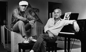 Jerry Leiber (right) and Mike Stoller
