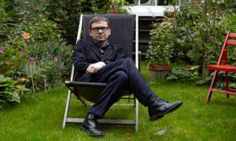 David Nicholls at home in Highbury, north London.