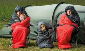 Tom Kitchin camping