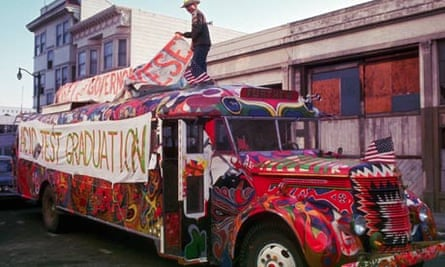 Further, the Merry Pranksters' Bus