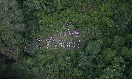 Protest to Save Amazon Park