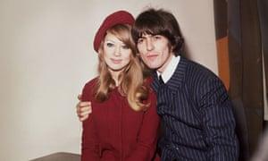 George Harrison and Patti Boyd