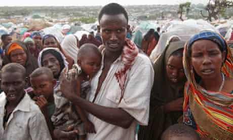 Somali Famine Refugees Seek Aid In Mogadishu