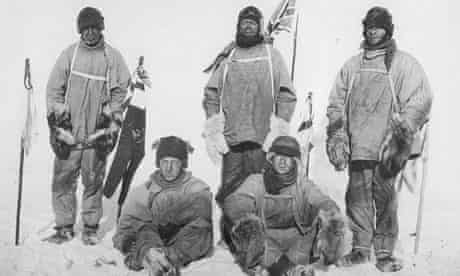 five members of scott's expedition team