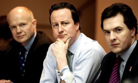 Hague, Cameron adn Osborne