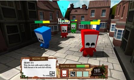 Fallen City screen shot