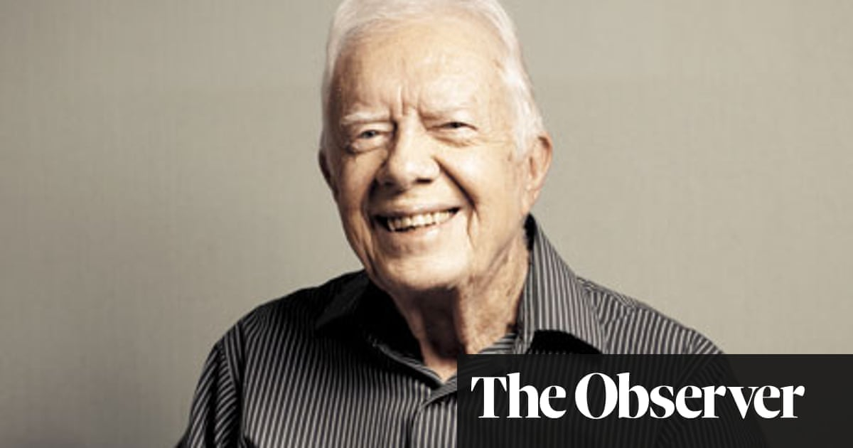 Jimmy Carter We Never Dropped A Bomb We Never Fired A Bullet We Never Went To War Us News The Guardian