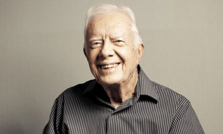 jimmy Carter at home