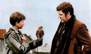 David Bradley and Colin Welland in Kes (1969)