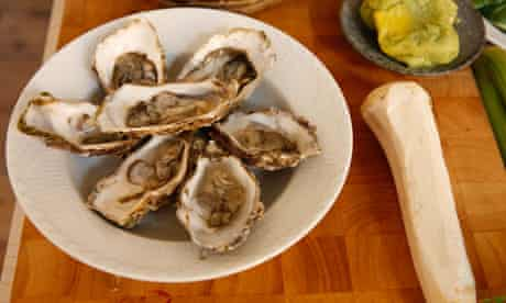 oysters and cabbage