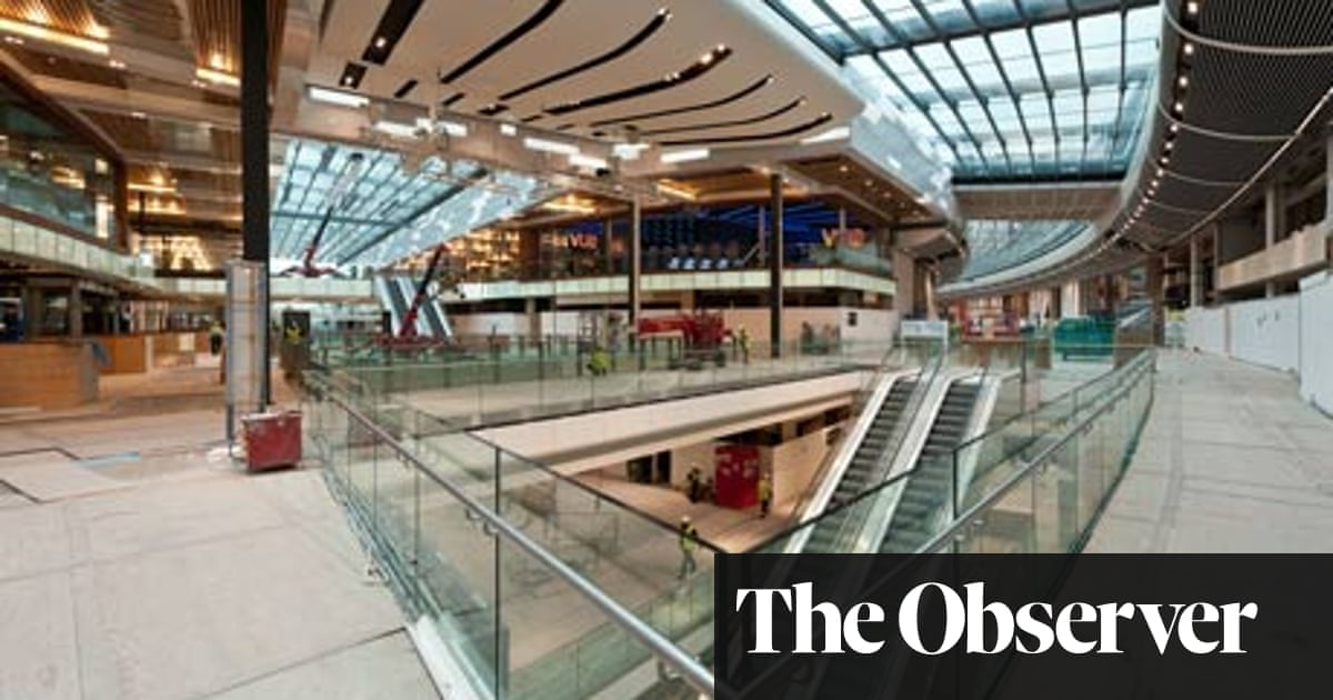 ac8704fab0 Westfield Stratford City – review | Art and design | The Guardian
