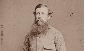 African explorer John Hanning Speke in a photograph taken about 1860.