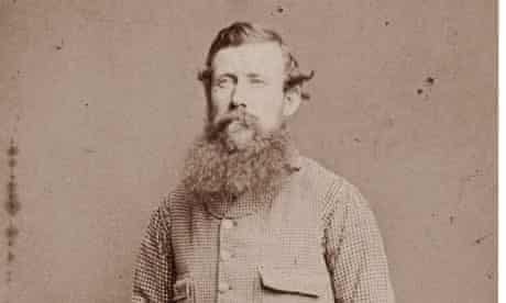 African explorer John Hanning Speke in a photograph taken about 1860.