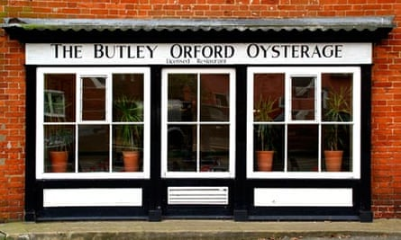 Butley Orford Oysterage Restaurant in Orford Suffolk