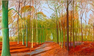 David Hockney A Bigger Picture Review Art And Design