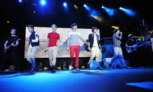 One Direction Perform At BIC In Bournemouth