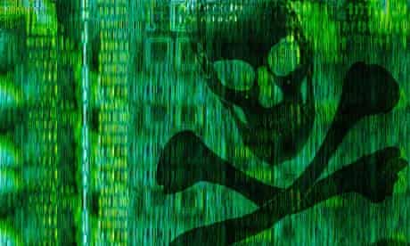 Digital piracy graphic