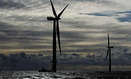 Construction Continues On Walney Offshore Windfarm