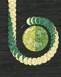 Illustration – origins of moon